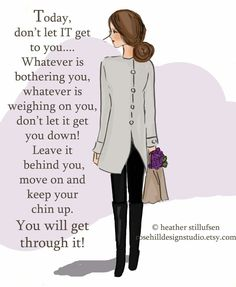 ...keep your chin up...