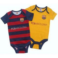 afd29f2e7f3 Barcelona Babysuit - 12 18 Months   Set of 2 Aston Villa