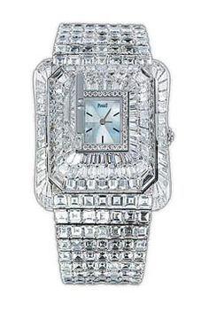 Diamond Watches Collection : PIAGET - Watches Topia - Watches: Best Lists, Trends & the Latest Styles Amazing Watches, Beautiful Watches, Bling Bling, Expensive Jewelry, Expensive Watches, Diamond Are A Girls Best Friend, Luxury Watches, Fashion Watches, Bracelet Watch