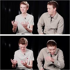 Thomas & Will they're so cute #themazerunner