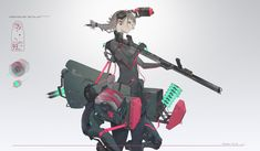 Woman Mechanic, Android Art, Fantasy Pictures, I Cool, Cyberpunk, Anime Art, Character Design, Darth Vader, Fictional Characters