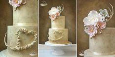 Wedding cake - cake by Lorna - CakesDecor