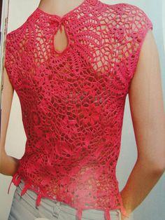 IRISH LACE Dress crochet patterns Book Top by RussianCrochetBooks