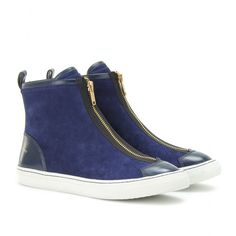 Marc by Marc Jacobs - KEARS HIGH-TOP SNEAKERS WITH ZIPPERED FRONT  - mytheresa.com GmbH