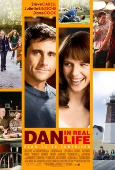 Dan In Real Life    Dan Burns is a single father who dedicates his life to his children, but one day he meets Marie at a bookstore. They get to know each other, but then Dan finds out that Marie is actually dating his brother, Mitch Burns.