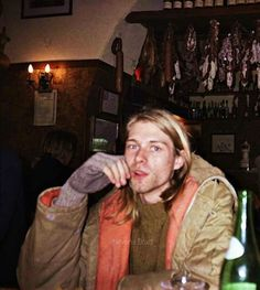 """I just can't believe anyone would start a band just to make the scene and be cool and have chicks. I just can't believe it."" -Kurt Cobain"