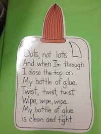 Cute glue poem