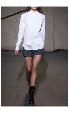 EACH X OTHER – FALL WINTER 2015 – PREORDER HERE: http://www.precouture.com/en/7102-tuxedo-shirt-tailored-shorts PRECOUTURE.COM is the first European website offering the possibility to preorder the looks straight from the runway. Order your looks now and wear them before anyone else, before it hits stores !