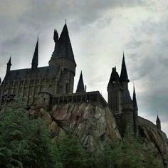 Harry Potter Castles at Universal Studios Orlando Florida