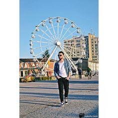 """Come un  deja vu"" Luogo: Darsena (Ravenna) PH: @isaby75 . . . . . #jackjones #outfit #man #modauomo #fashion #core #mood #swag #instalike #istaday #instagram #instadaily #instagood #instafame #photooftheday #guy #igdaily #instamood #gayfriends #centrocommercialeESP #ravenna #darsena"