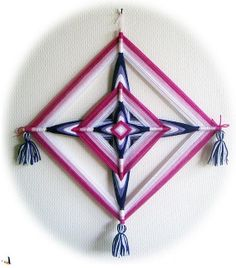 ojo de dios roze en paars | Flickr - Photo Sharing!