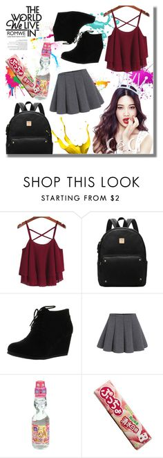 """Romwe"" by orietta-rose on Polyvore featuring Etude House, romwe and fashionset"