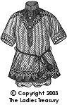 Free Pattern:  Boy's Russian Blouse Costume, 1905