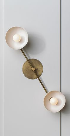 Trapeze wall light, Apparatus - bath? or in living room?