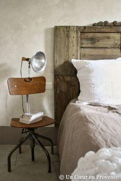 Style vintage dans la chambre / Vintage style in the bedroom