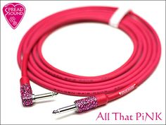 All That PiNK BELDEN 8412 / SPREAD SOUND Guitar Cable