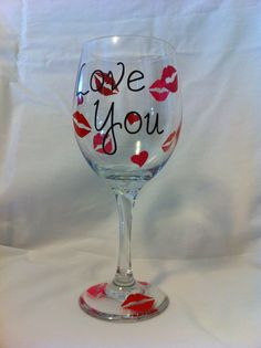 valentine wine glass 1200 these would be perfect for valentines - Valentine Wine Glasses