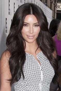 Kim Kardashian Glam Waves Hairstyle - Kim Kardashian Hairstyles Over the Years
