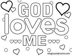 coloring pages love Jesus | Jesus Loves Me, : Jesus Love Me ...
