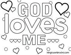 god loves me coloring pages - 1000 images about kw curriculum ideas on pinterest