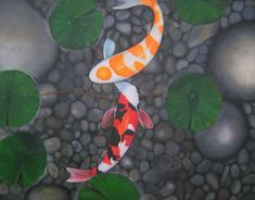 Image for Koi Fish Pond Wallpaper Widescreen 1920×1080