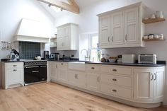 French Grey by George Robinson Kitchens. Just beautiful in its simplicity, balance and elegance.