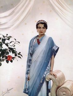 Princess Krishna Kumari of Marwar and Jodhpur. What a pretty lady.