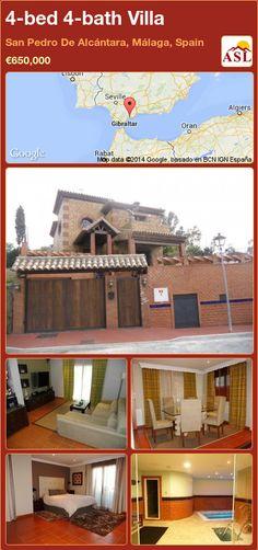 4-bed 4-bath Villa in San Pedro De Alcántara, Málaga, Spain ►€650,000 #PropertyForSaleInSpain