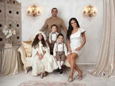 The Real Housewives of NJ, Melissa and Joes Gorga family portrait 2011