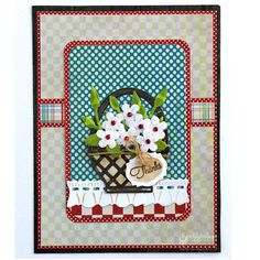 View Idea Gallery Projects | Spellbinders - Homespun Thanks
