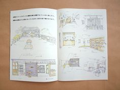 MHL主催のイベント「COMMUNITY MART MHL VOL.1」のガイドブック #design #leaflet #booklet #guidebook #graphic #japan #event #MHL #kawaii #デザイン #パンフレット #リーフレット #小冊子 #イベント #東京 #kawacolle