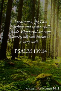 You are fearfully and wonderfully made! No matter our social class, our ethnic background, our abilities or disabilities—we are fearfully and wonderfully made by God! Biblical Quotes, Religious Quotes, Bible Verses Quotes, Faith Quotes, Spiritual Quotes, Bible Verses About Nature, Prayer Scriptures, Faith Prayer, Faith In God