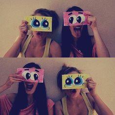 spongebooooooooooob + paaaaaaaaaaaaaaatirck = Crazzzyyy Bestyyys <3