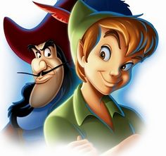Peter Pan & Captain Hook!