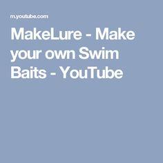 MakeLure - Make your own Swim Baits - YouTube