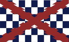 Bandera capitana de Infanteria.