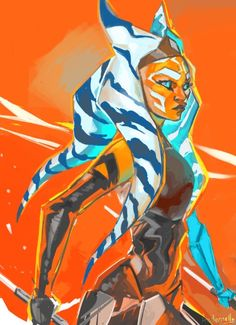 Ahsoka is my favorite Star Wars character (along with Vader and Rey)!!!!