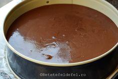 TORT CU MOUSSE DE CIOCOLATA SI CAPSUNI - Rețete Fel de Fel Pudding, Tableware, Desserts, Tailgate Desserts, Dinnerware, Deserts, Puddings, Dishes, Dessert