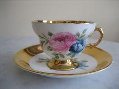 Vintage Rosina /Windsor Bone China Tea Cup and Saucer England