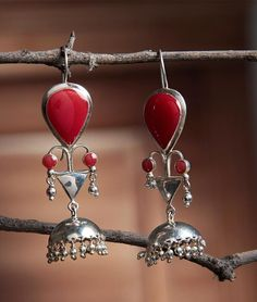 Buy The Eternal Minimalist Moodswings by Benaazir Handcrafted Two Toned Silver Earrings & Jhumkis Online at Jaypore.com