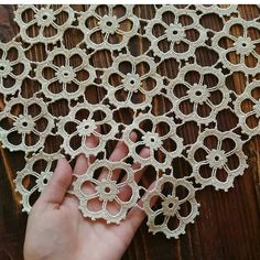 Crochet Placemat 19 x 14 / Table cloth / New by FestiveCrafting Crochet Angel Pattern, Crochet Doily Patterns, Crochet Borders, Crochet Squares, Thread Crochet, Love Crochet, Irish Crochet, Crochet Motif, Crochet Designs