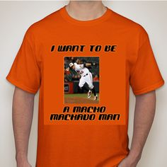 Macho Machado Man T-Shirt