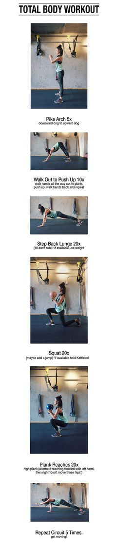 The Bachelorette Kaitlyn Bristowe Total Body Workout in 5 Moves  via Movement 108
