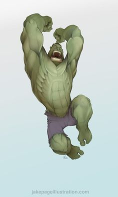 The Incredible Hulk by Jake Page
