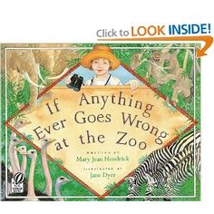 My all time favorite zoo story. I have students brainstorm how they could help if anything ever went wrong at the zoo.