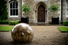 Sumarria Lunn presents 'Dividing Line', an exhibition of contemporary outdoor sculpture in association with High House.    A dividing line stands as a conceptual separation or distinction, a line from which contrasts can be observed and old ideas re-examined. This exhibition aims to spotlight contemporary outdoor sculpture that has escaped the tradition of regurgitating stale figurative and modernist modes.