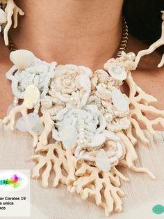 Collar Corales 19, Bijoux - Ropa de viaje, ropa de crucero, antica sartoria, ropa de vacaciones -  Travel Wear Miro