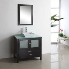 """36"""" to 71"""" Ferrara Single Bathroom Vanity, sophistication and modernism in a range of sizes - $989.00"""
