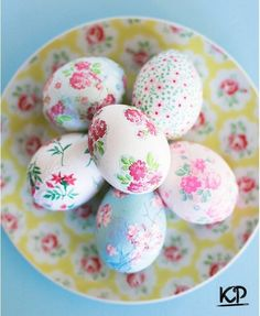 Idea for decorating Easter eggs � / Amazing Handmade