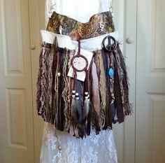 Hippie Gypsy Fringe Bag  Bohemian Hippie Fringe Bag  by Pursuation, $69.00
